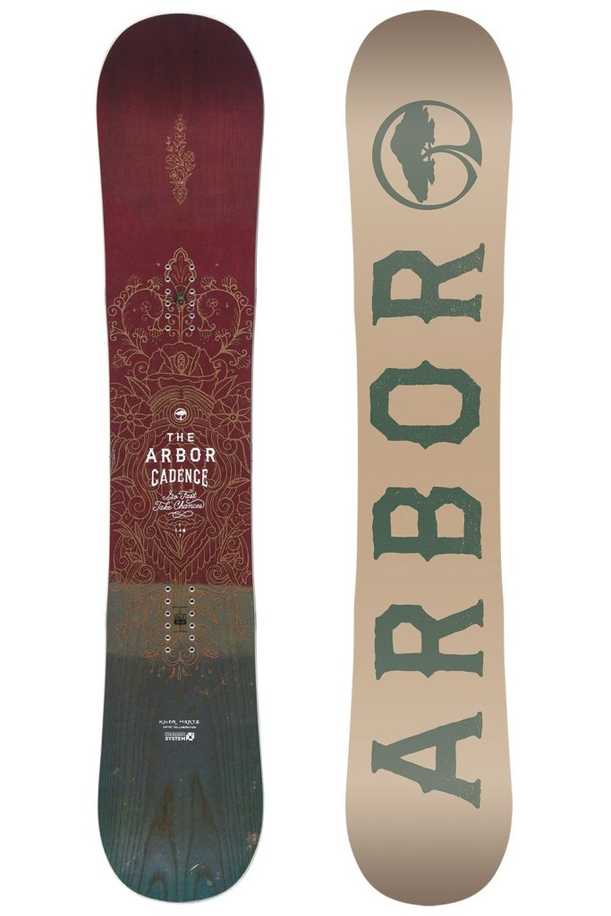 Snowboard Arbor Cadence 1617