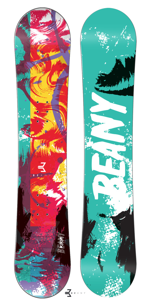 Snowboard Beany Action 16/17