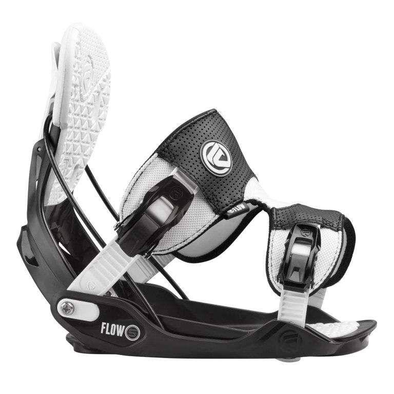 Snowboardové vázání Flow Five 1516 černábílá