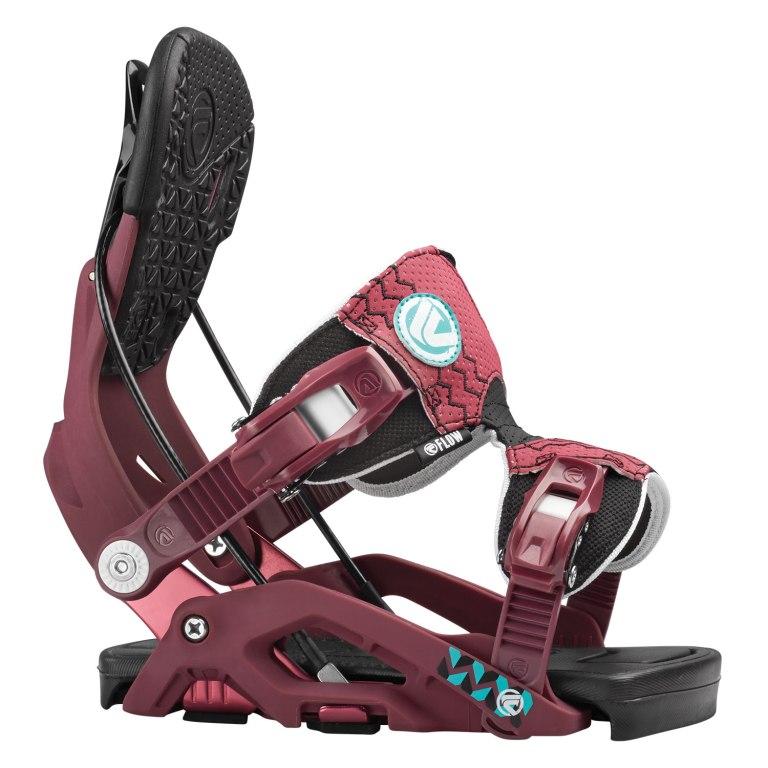 Snowboardové vázání Flow Juno 1516 fialová