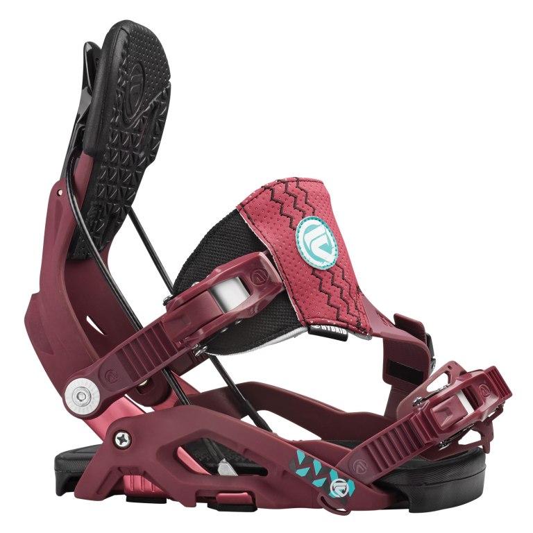Snowboardové vázání Flow Juno Hybrid 1516 fialová
