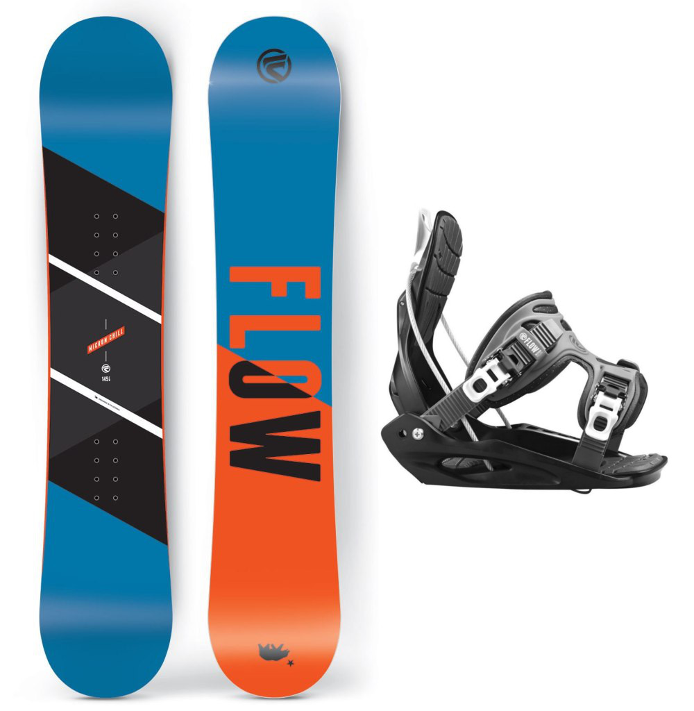 Snowboardový set Flow Micron Chill 15/16