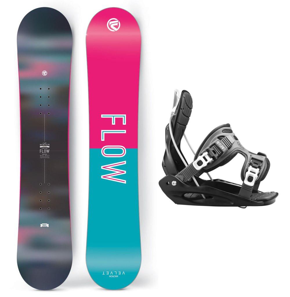 Snowboardový set Flow Micron Velvet 1516
