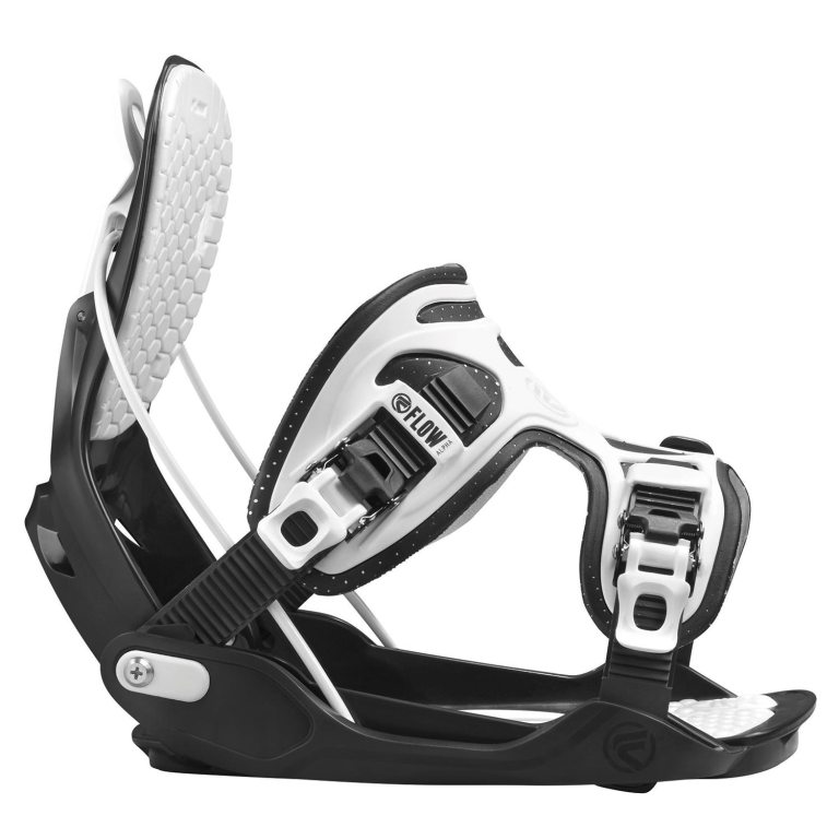 Snowboardové vázání Flow Alpha 1617 černábílá