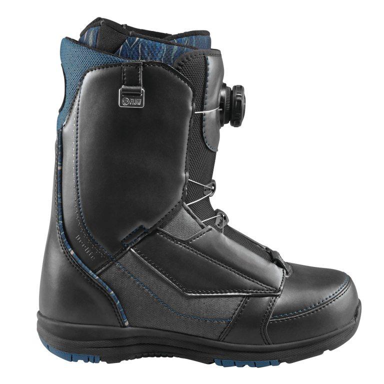 Snowboardové boty Flow Deelite Coiler 1617 šedámodrá