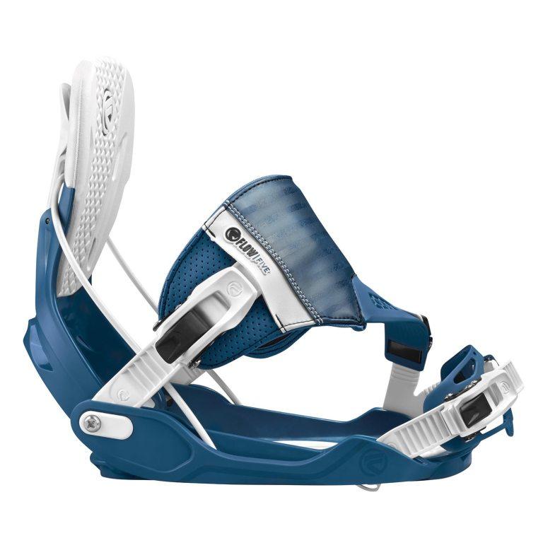 Snowboardové vázání Flow Five Hybrid 1617 modrá
