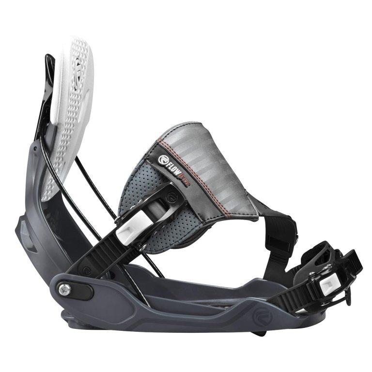 Snowboardové vázání Flow Five Hybrid 1617 šedá