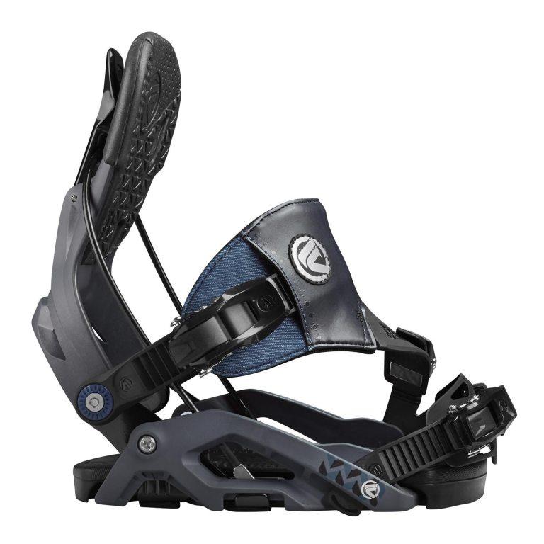 Snowboardové vázání Flow Juno Hybrid 1617 šedámodrá
