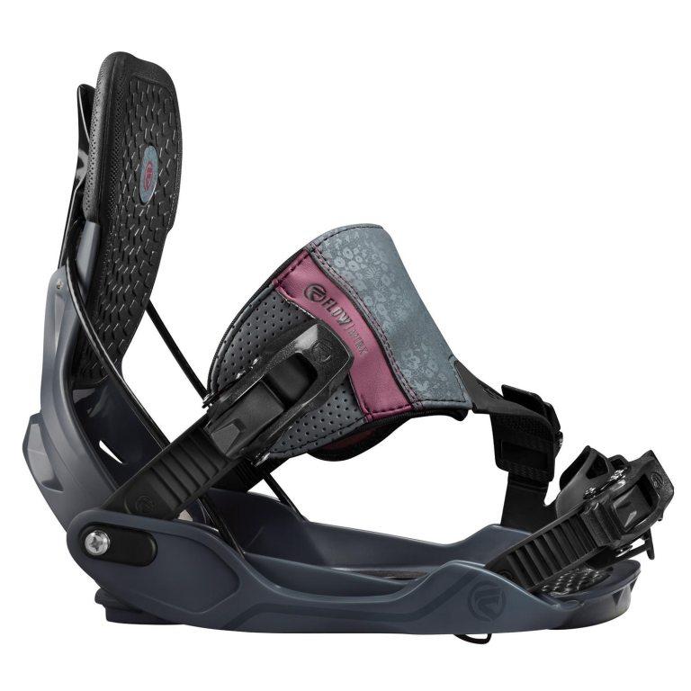 Snowboardové vázání Flow Minx Hybrid 1617 šedá