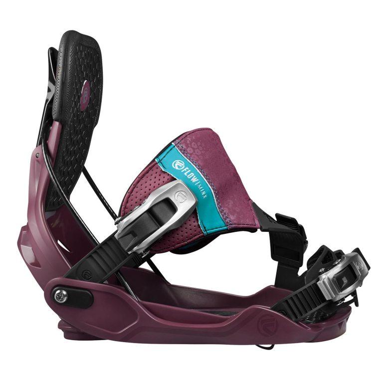 Snowboardové vázání Flow Minx Hybrid 1617 fialová