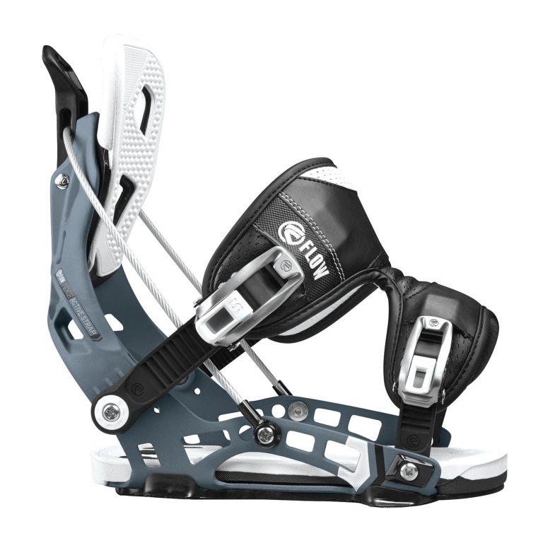 Snowboardové vázání Flow NX2 1617 šedá