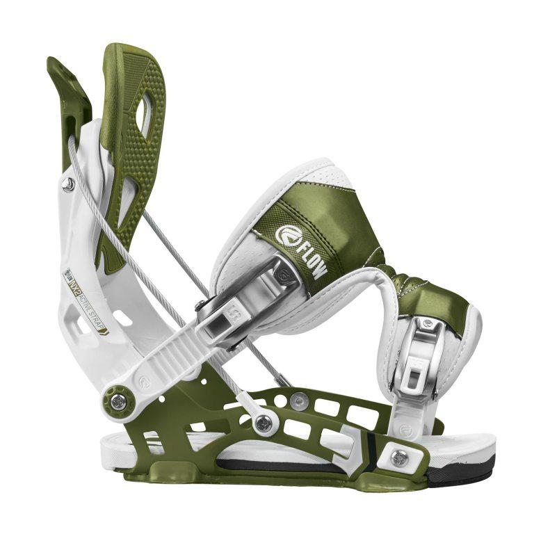 Snowboardové vázání Flow NX2 1617 bílázelená