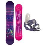 Snowboardový set Gravity Electra + G2 1516