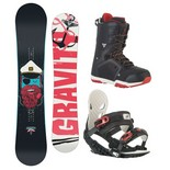 Snowboardový komplet Gravity Empatic + G2 + Recon 1516