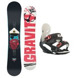 Snowboardový set Gravity Empatic + G2 1516