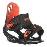 Snowboardové vázání Gravity G1 1516 černáčervená