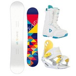 Snowboardový komplet Gravity Mist + G1 + Aura 1516