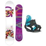 Snowboardový set Gravity Sirene + G1 1516
