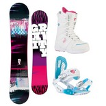 Snowboardový komplet Gravity Sublime + G3 + Sage 1516