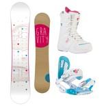 Snowboardový komplet Gravity Trinity + G3 + Sage 1516