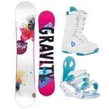 Snowboardový komplet Gravity Voayer + G2 + Aura 1516