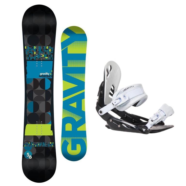 Snowboardový set Gravity Adventure + G1 1617