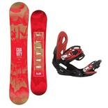 Snowboardový set Gravity Electra + G2 1617