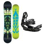 Snowboardový set Gravity Empatic + G3 1617