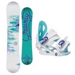 Snowboardový set Gravity Fairy + G1 Jr 1617