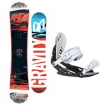 Snowboardový set Gravity Madball + G1 1617