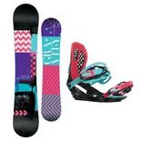 Snowboardový set Gravity Sublime + G3 1617