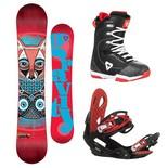 Snowboardový komplet Gravity Thunder + G2 + Aura 1617