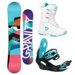 Snowboardový komplet Gravity Voayer + G2 + Aura 1617