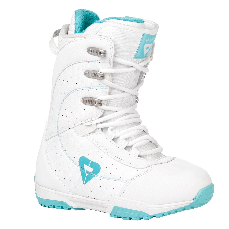 Snowboardové boty Gravity Aura Lady 1617 bílá
