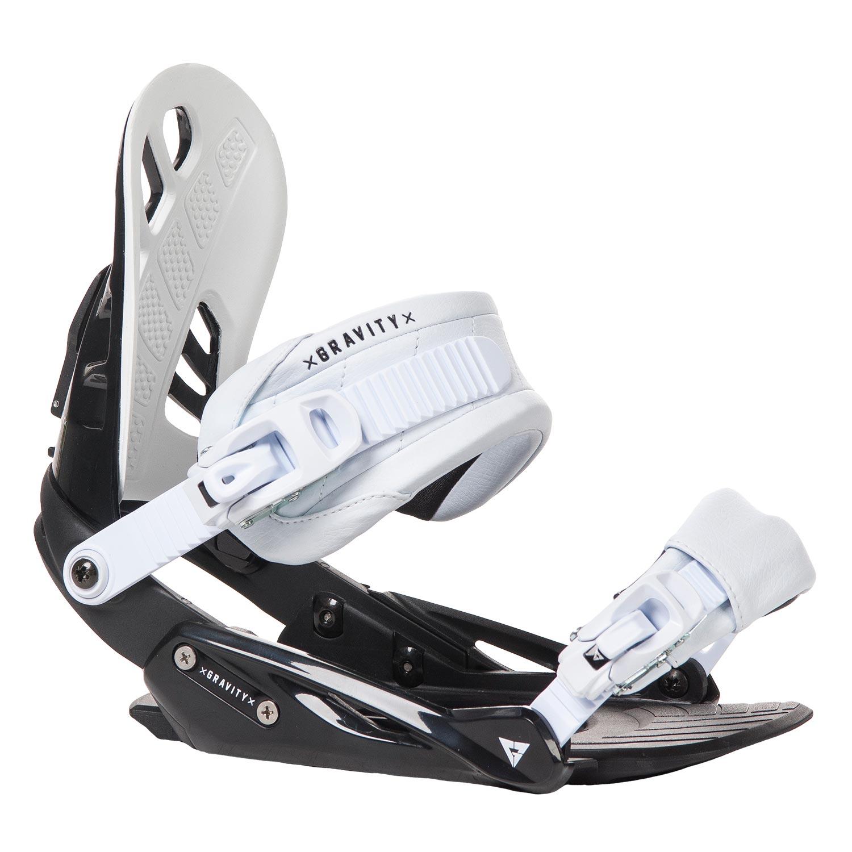 Snowboardové vázání Gravity G1 1617 černábílá