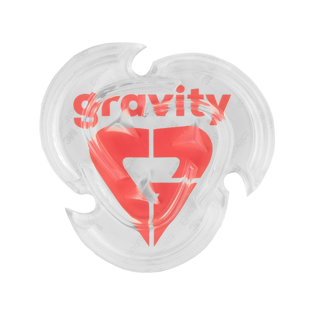 Gumový grip Gravity Heart 18/19 čirý