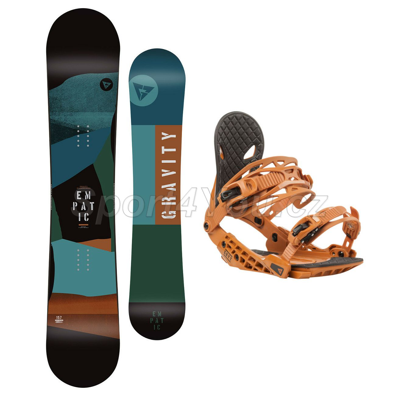 Snowboardový set Gravity Empatic JR 19/20