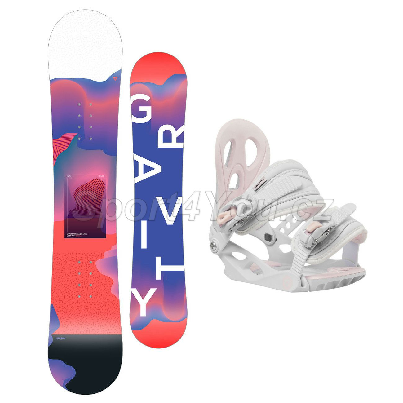 Snowboardový set Gravity Fairy 19/20