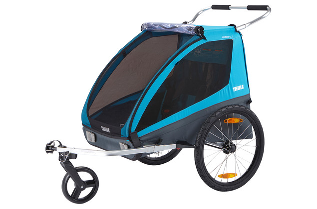 Přívěsný vozík za kolo Thule Coaster XT + kočárek