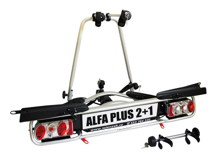 Nosič kol Wjenzek Alfa Plus 2+1