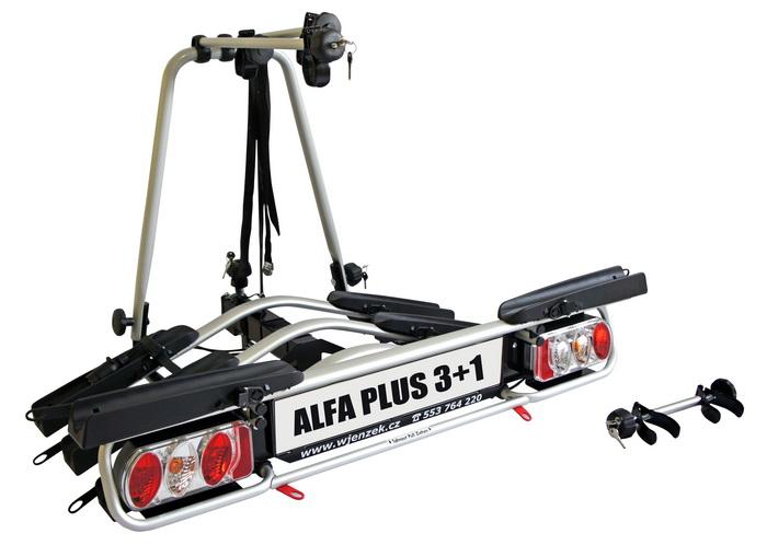 Nosič kol Wjenzek Alfa Plus 3+1